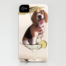 Tessi the party Beagle Slim Case iPhone (4, 4s)
