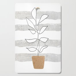 Scandi Plant Cutting Board