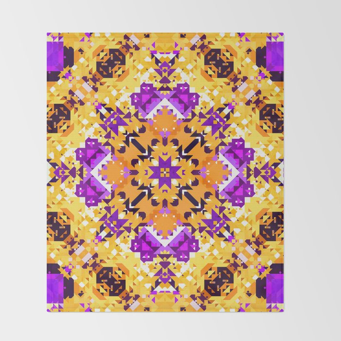 Abstract Design Throw Blanket