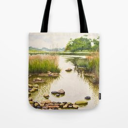 River side Tote Bag