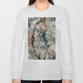 Agate Abstract Long Sleeve T-shirt