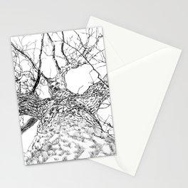 #inktober2016:tree Stationery Cards