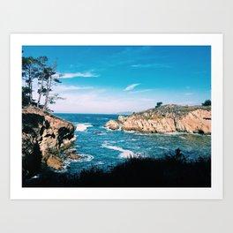 Shoreline Palette Art Print