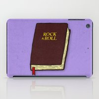 bible verses iPad Cases featuring Rock & Roll Bible by Josh LaFayette