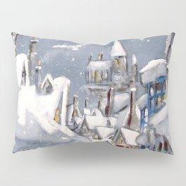 Snowy Hogsmeade Pillow Sham