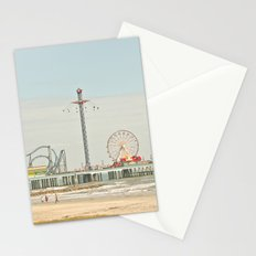 Pleasure Pier Galveston Fun Stationery Cards
