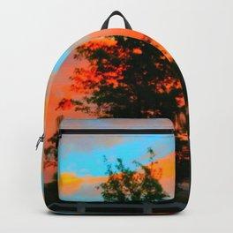 Neon Landscape Backpack