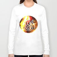 zuko Long Sleeve T-shirts featuring prince of the flame by Jon Holloway