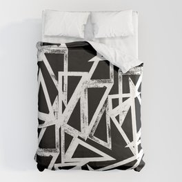 stamp triangle Duvet Cover