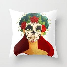 Día de los Muertos Throw Pillow