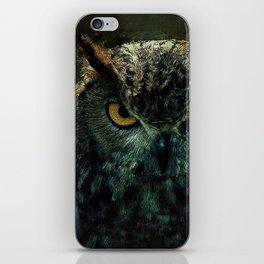 Owl - Owlish Tendencies iPhone Skin
