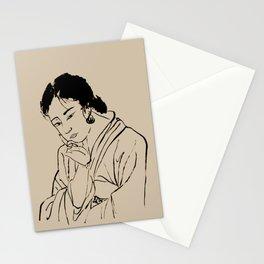 Lady Elegance Stationery Cards