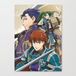 Blazing Fates Canvas Print