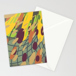 yellow green (a10 Stationery Cards