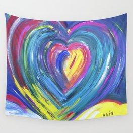 Heart by Sheila Fein Fantasy Pop Wall Tapestry