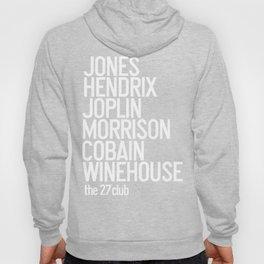 Jones Hendrix Morrison Joplin Cobain.. Hoody