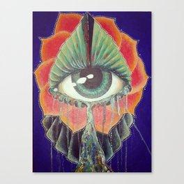 Eyeyeye Canvas Print