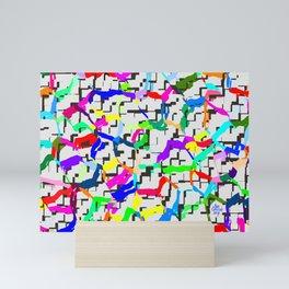 Rhythmic cloud 28 Mini Art Print