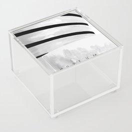 Architecture sketch of the Guggenheim Museum New York Acrylic Box