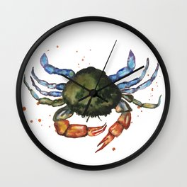 Shoreline Scuttler Wall Clock