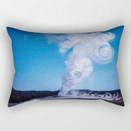 Old Faithful & Full Moon Rectangular Pillow