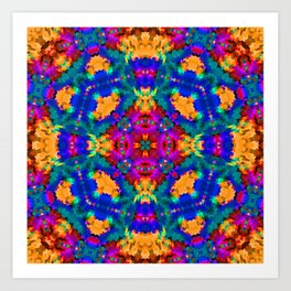 Ornament, ethnic, geometric 11 Art Print