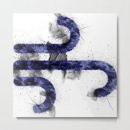 Symbol; Astrology; Air- Element_ Metal Print