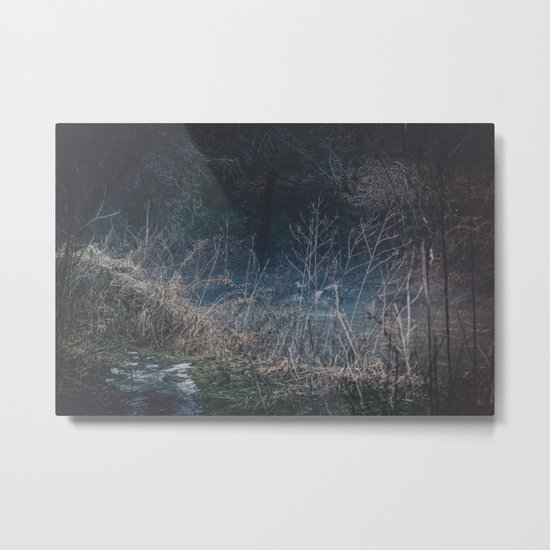 Wasted Moments Metal Print