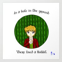 Hobbit - In a Hole in the Ground Art Print