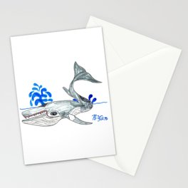 Minke Whale Stationery Cards