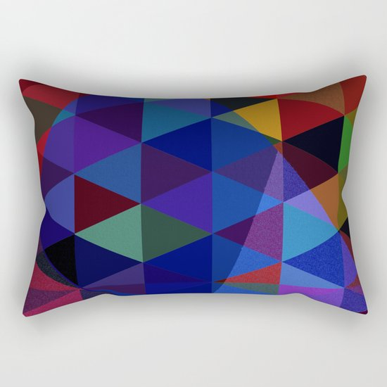 Abstract #235 Rectangular Pillow