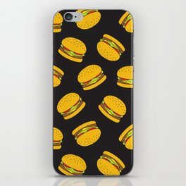 Burger Pattern  Everett co iPhone Skin