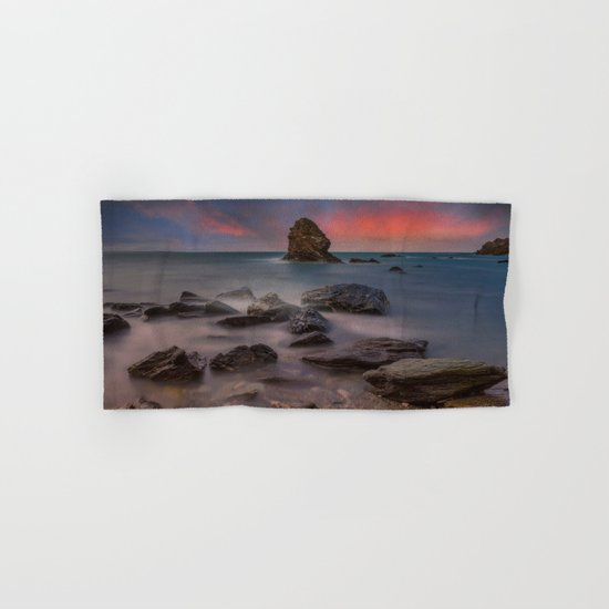 Rhoscolyn Rocks Hand & Bath Towel