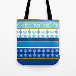 hanukkah wrap Tote Bag
