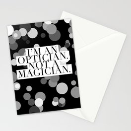 Optician Magician Stationery Cards