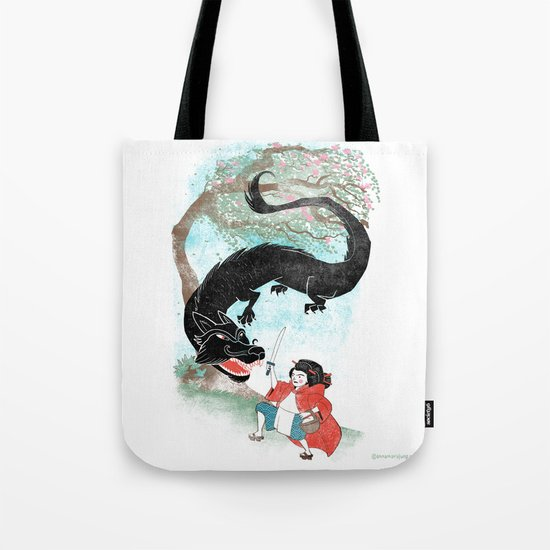 Little Red-San Tote Bag