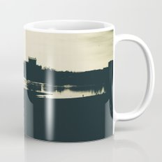 Silhouette des Dresdener Elbufers Mug