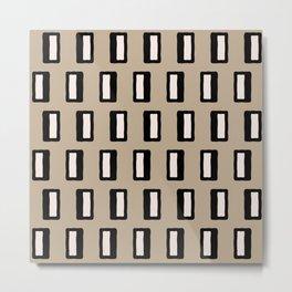 Chad Pattern 2 Metal Print