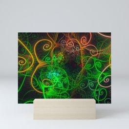 Head games. Mini Art Print