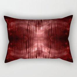 Al-ien Red Rectangular Pillow