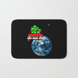 Ride to Mars selfie Bath Mat