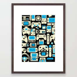 AXOR Heroes - Love For Games Duotone Framed Art Print