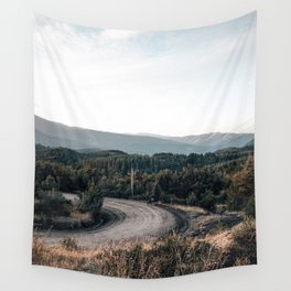 road to Cerro chapelco Wall Tapestry