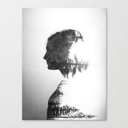 Treeline Portrait Canvas Print