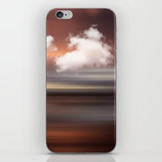 SEASCAPE - abstract landscape in glowing copper tones iPhone & iPod Skin