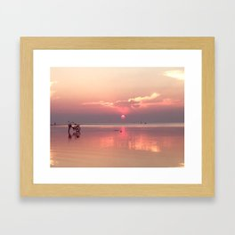 KP Sunset Framed Art Print