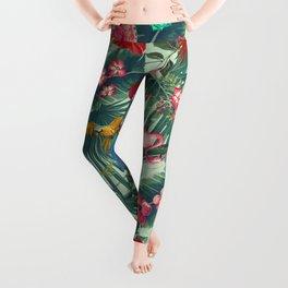tropical fun nature Leggings