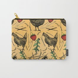 Charming Chickens Carry-All Pouch