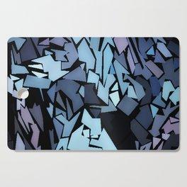 Jagged Blue Cutting Board
