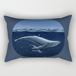 Space-Time Bubble Rectangular Pillow
